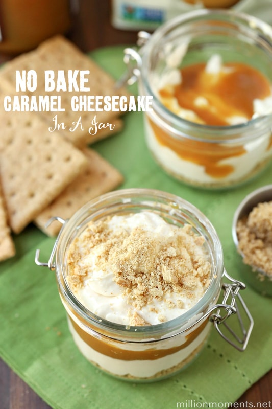 nobake-caramel-layered-cheesecake