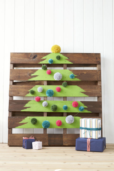 DIY -palette-christmas-tree