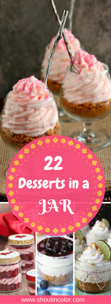 22 Desserts in a Jar