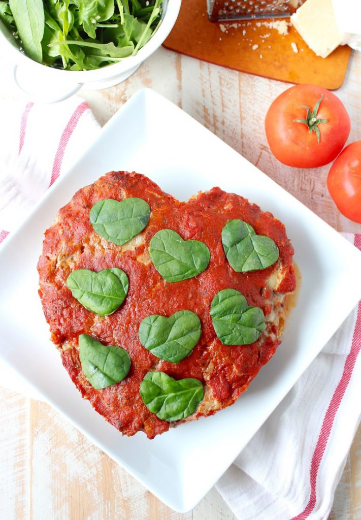 Valentine's Day Recipes: Heart Shaped Italian Meatloaf