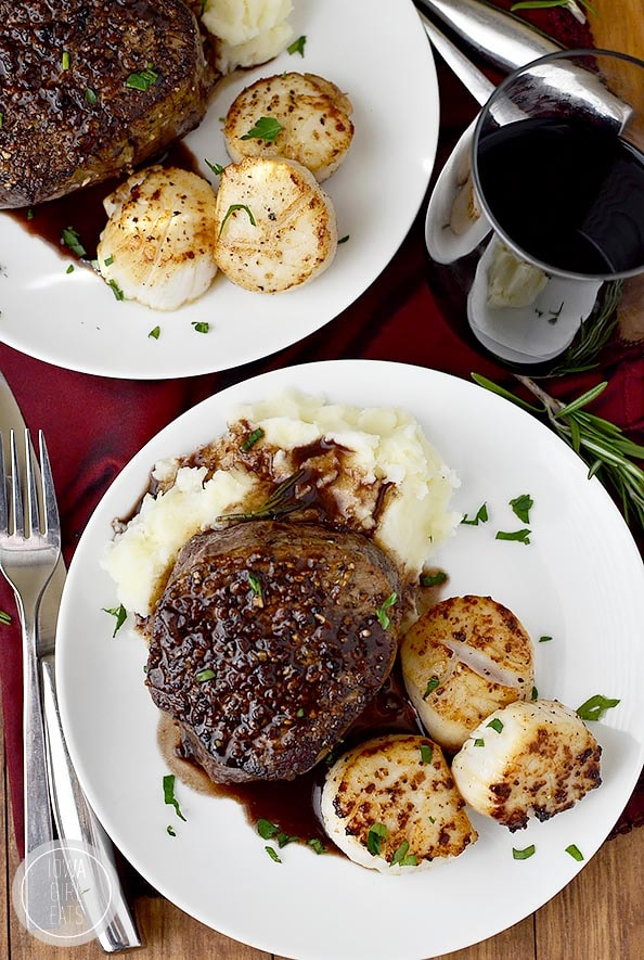 Valentine's Day Recipes: Surf and Turf for Two