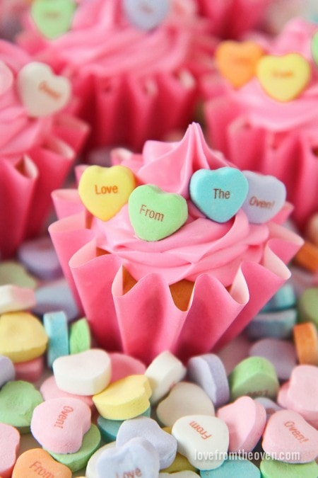 Valentine's Day Recipes: Tweet Heart Cupcakes