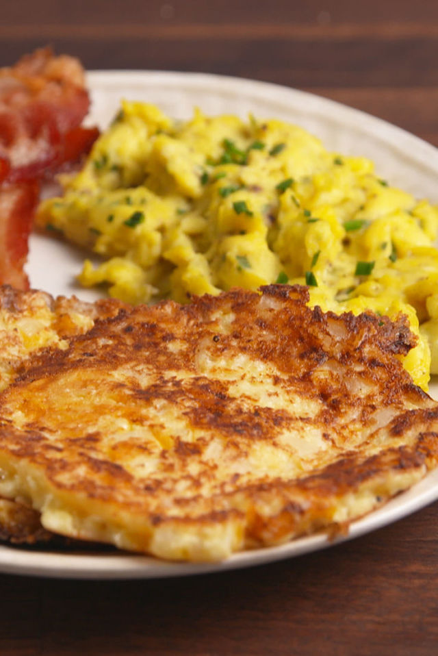 Low carb diet recipes: Cauliflower Hash browns