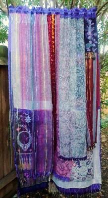Bohemian Inspired Bedroom: DIY Curtains