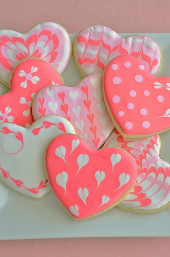 Valentine's Day Recipes: heart cookie