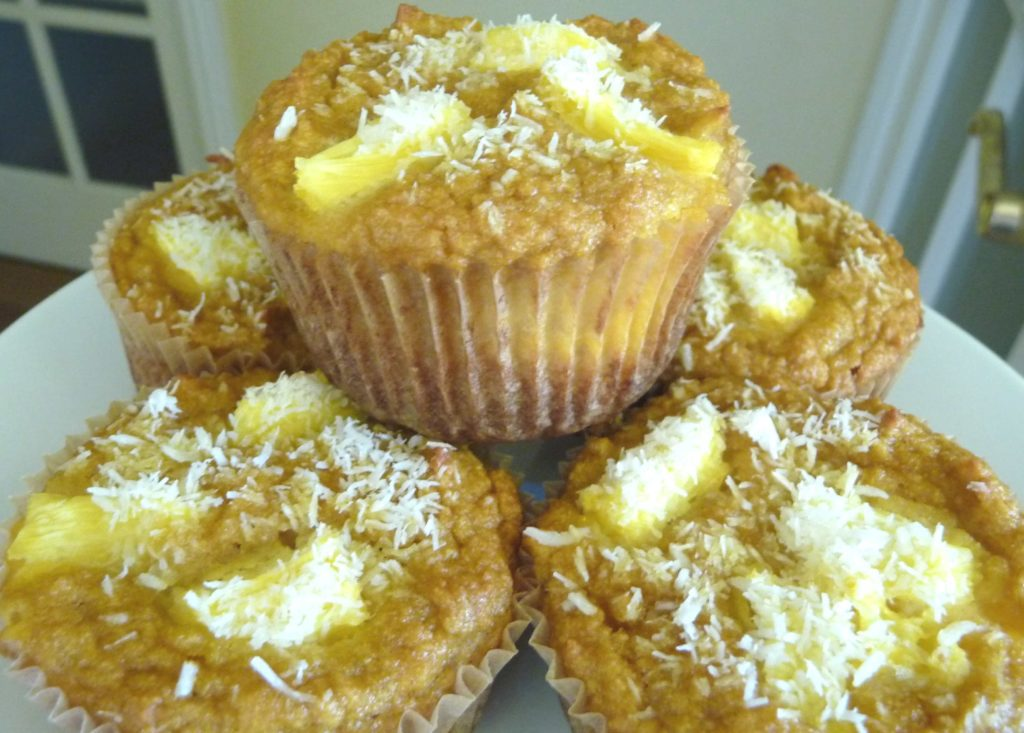 Grain free Recipes: Pineapple muffins