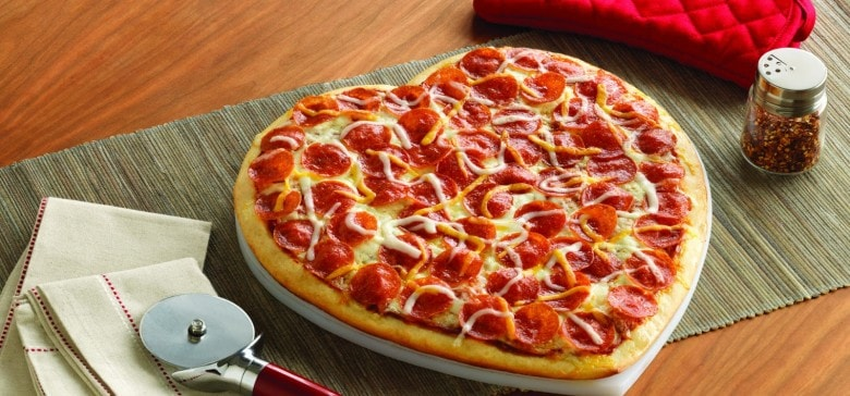 Valentine's Day Recipes: pizza