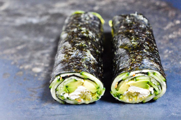 Low carb diet recipes: Low Carb Sushi