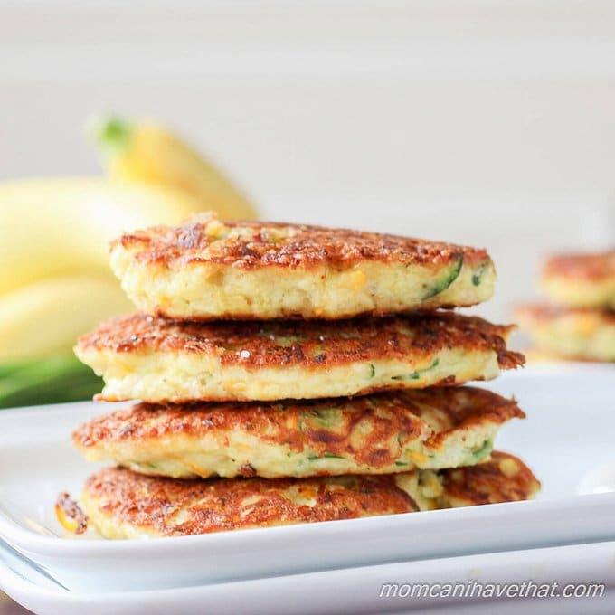 Grain free Recipes: Zucchini Fritters