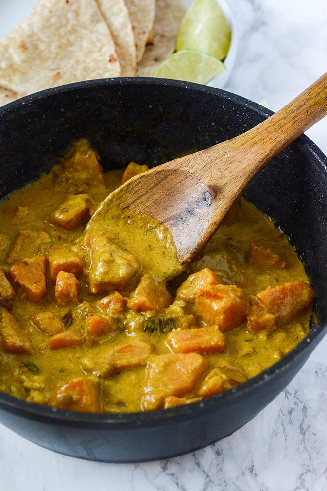 Butternut Squash Recipes: Butternut Squash Coconut Curry
