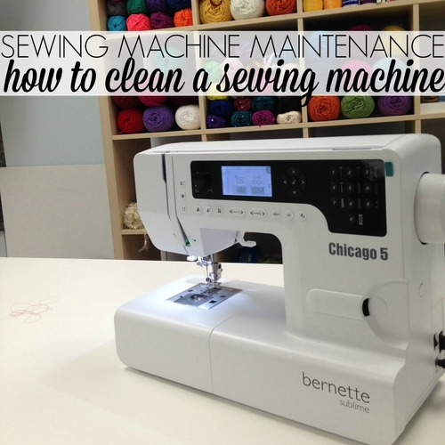 sewing hacks: cleaning your machine