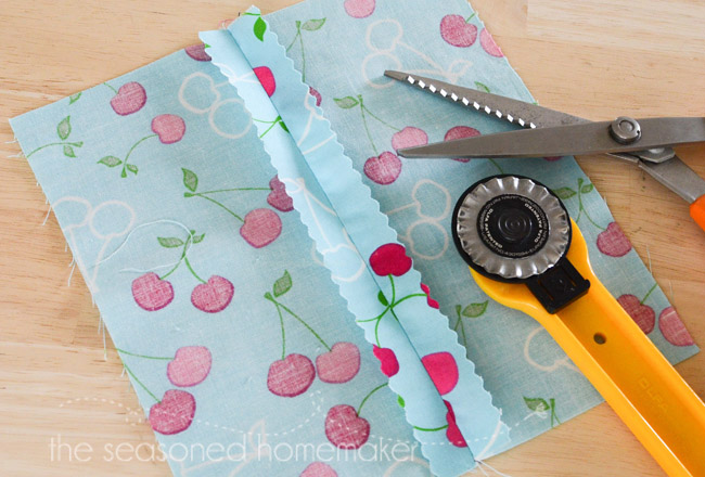 sewing hacks: off finishing of seams