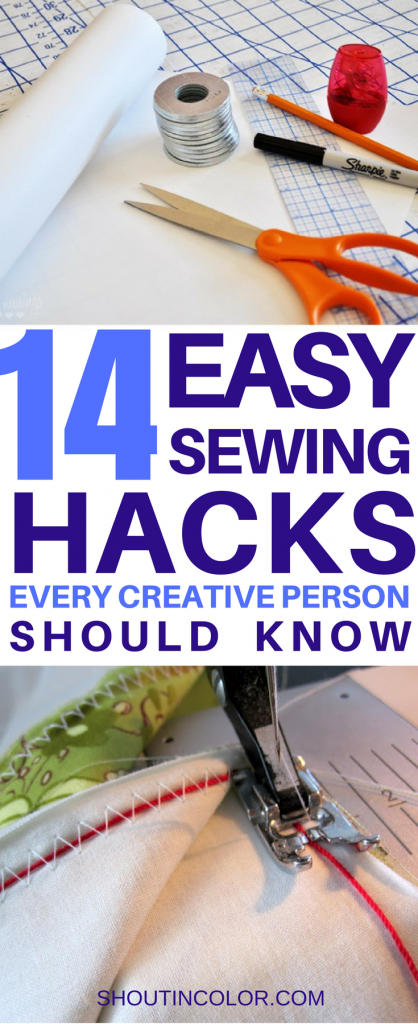 sewing hacks every creative person should know