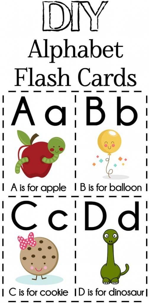 Free Printables: DIY_Alphabet Flash Cards