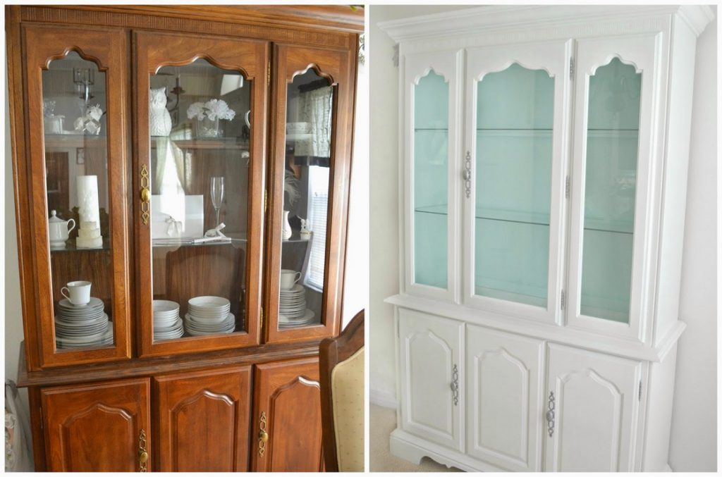 Painted furniture ideas: Hutch