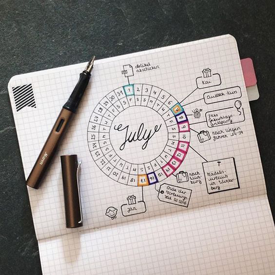 Bullet Journal Ideas:Have Fun