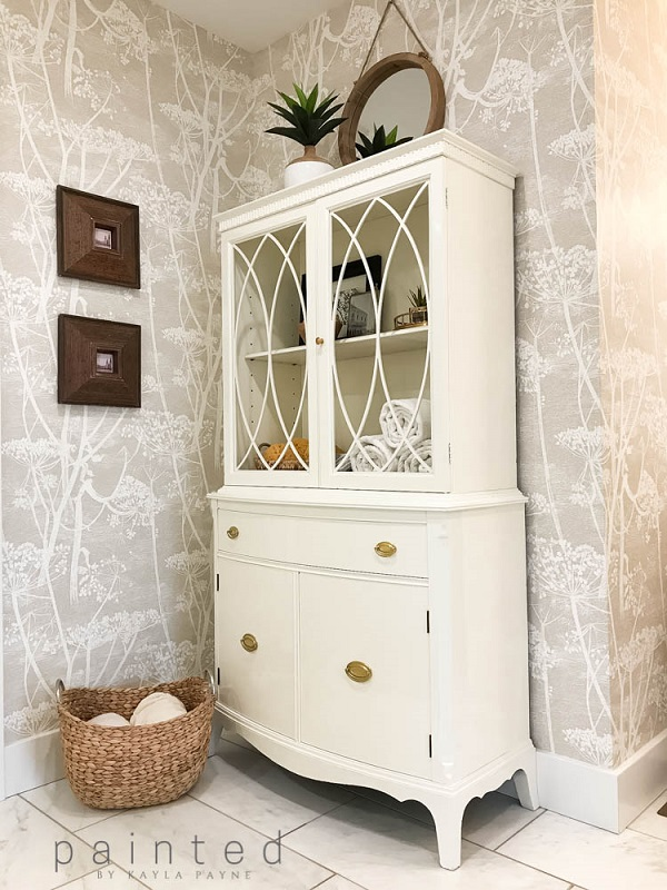 Furniture makeover ideas: bathroom storage