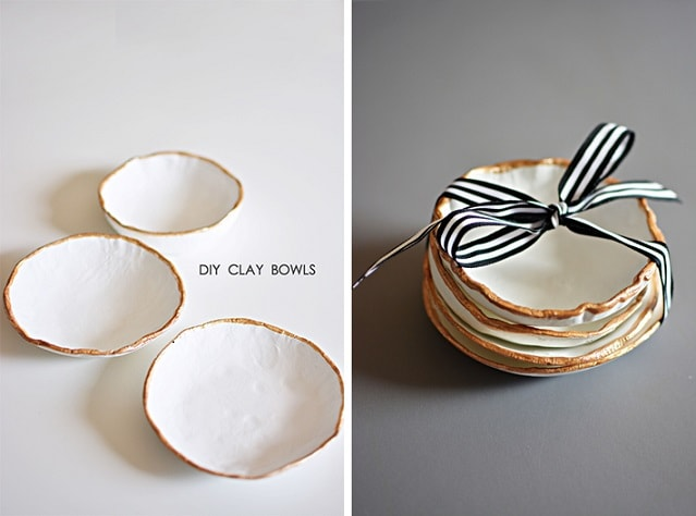 air dry clay projects: Craft Clay Bowls