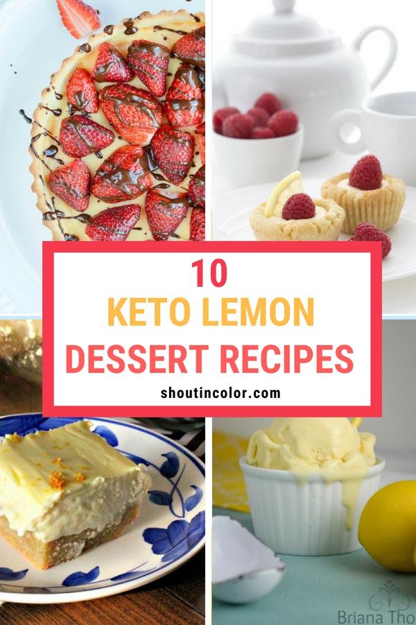 keto lemon dessert