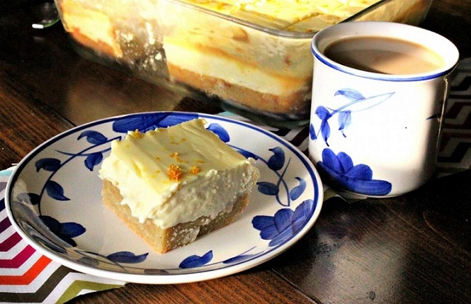 keto lemon dessert: low carb cheesecake bars