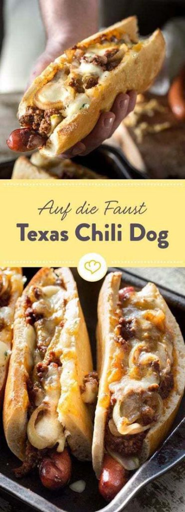 BBQ Recipes: Auf Die Faust Texas Chili Dog