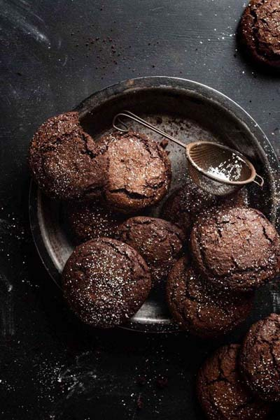 Gingerbread Recipes: Chocolate Gingerbread Cookies