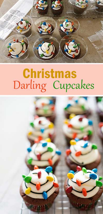 Christmas Cupcakes: Christmas Darling Cupcakes