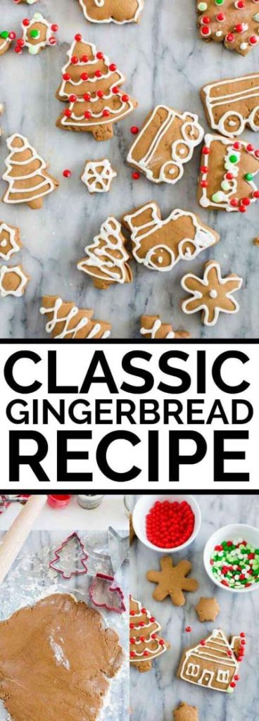 Gingerbread Recipes: Classic Gingerbread Recipe