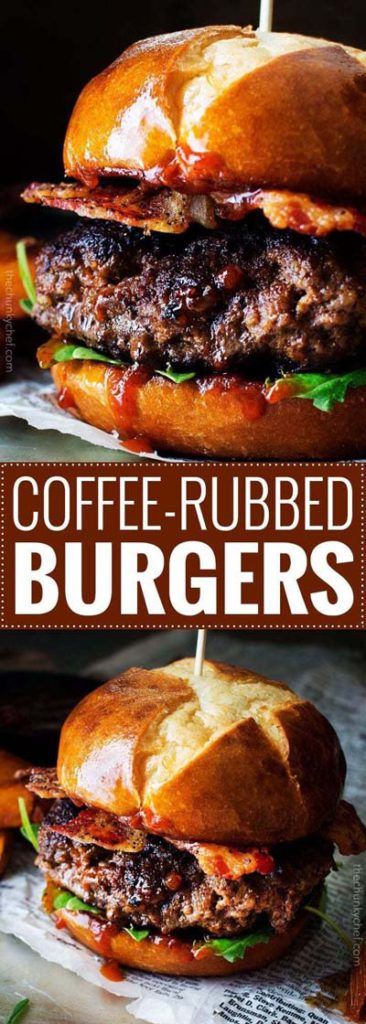 BBQ Recipes: Coffee-Rubbed Burgers