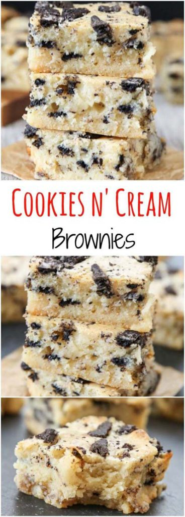 Brownie Recipes: Cookies & Cream Brownies