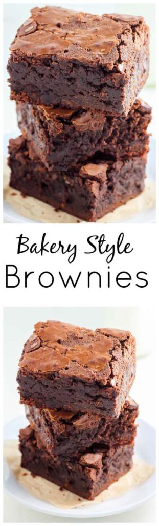 Brownie Recipes: Famous Bakery Style Brownies