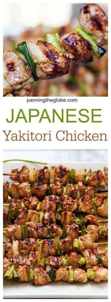 BBQ Recipes: Japanese Yakitori Chicken