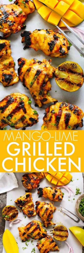 BBQ Recipes: Mango-Lime Grilled Chicken