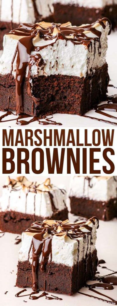 Brownie Recipes: Marshmallow Brownies