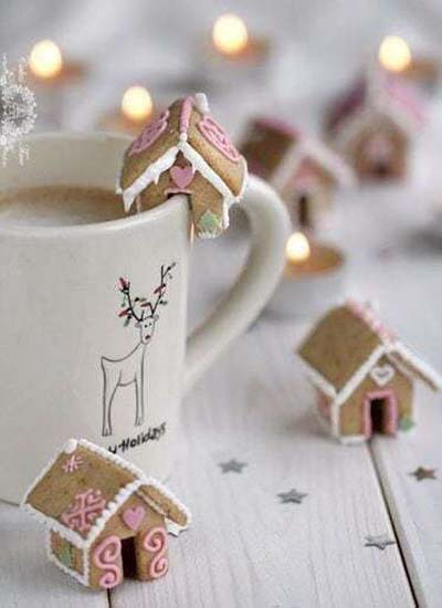 Gingerbread Recipes: Mini Gingerbread Houses