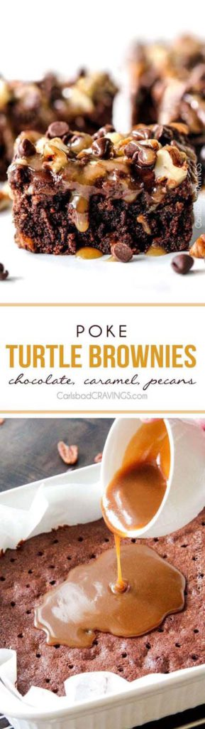 Brownie Recipes: Poke Turtle Brownies