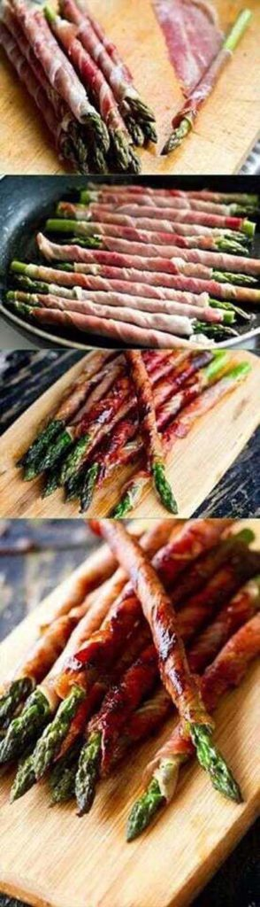 BBQ Recipes: Proscuitto Wrapped Asparagus