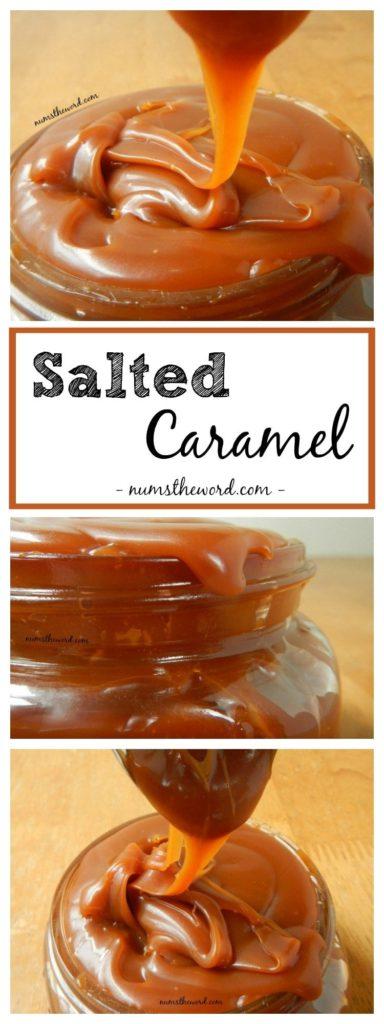 Caramel Recipes: Salted Caramel Sauce