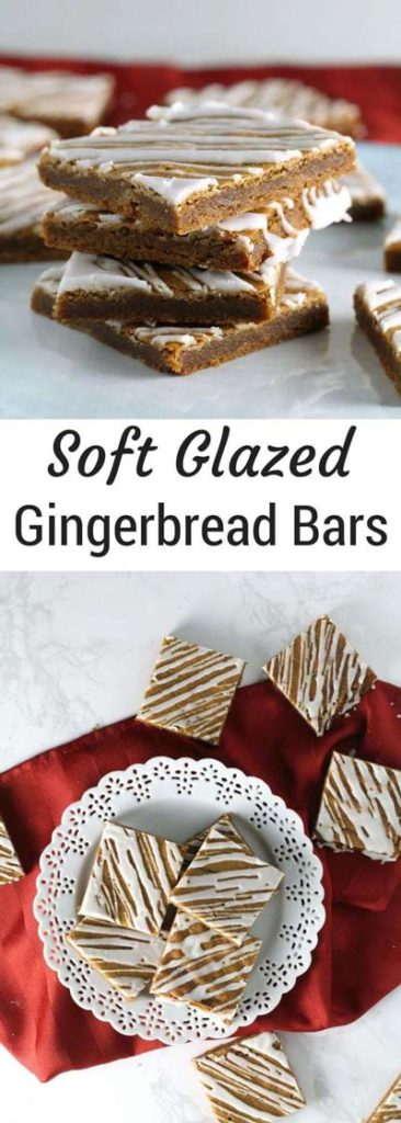 Gingerbread Recipes: Soft Glazed Gingerbread Bars