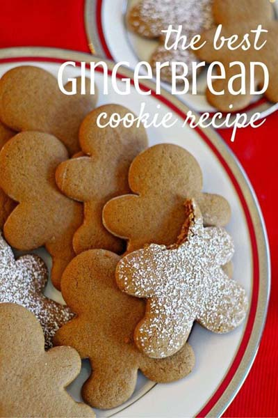 Gingerbread Recipes: The Best Gingerbread Cookie Recipe