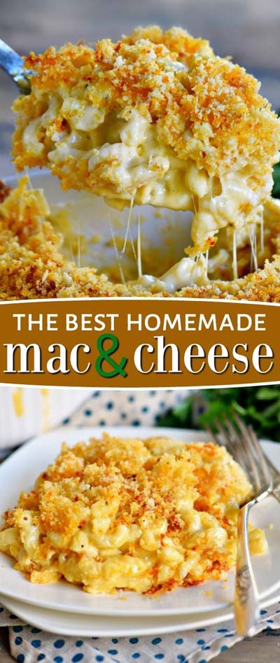 Mac And Cheese Recipes: The Best Homemade Mac And Cheese