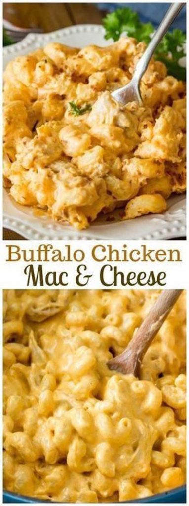 Mac And Cheese Recipes: Buffalo Chicken Mac & Cheese