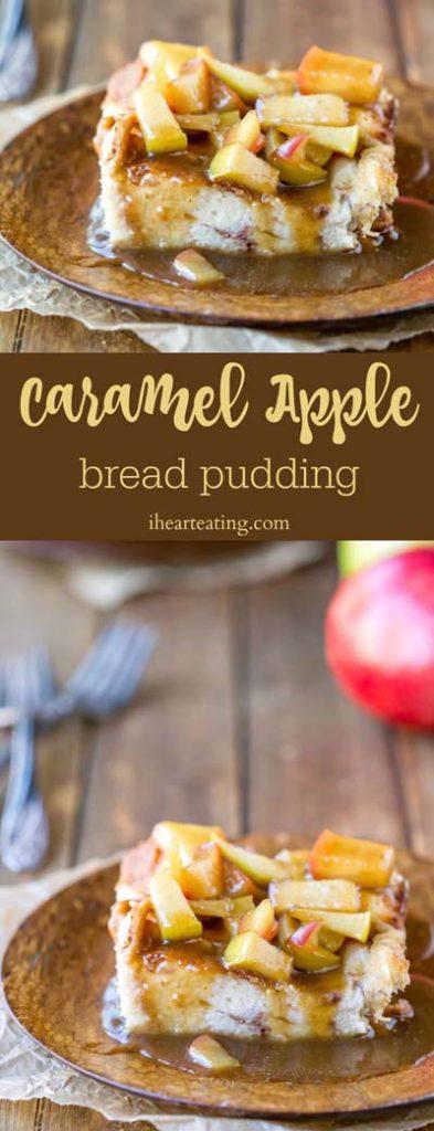 Caramel Recipes: Caramel Apple Bread Pudding