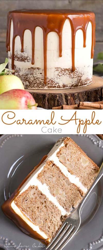 Caramel Recipes: Caramel Apple Cake