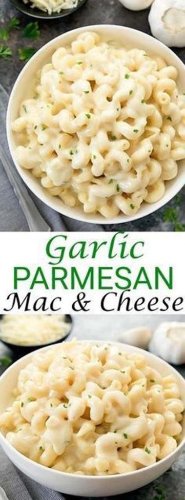 Mac And Cheese Recipes: Garlic Parmesan Mac & Cheese