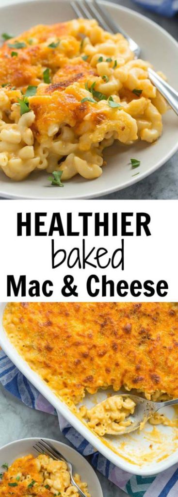 Mac And Cheese Recipes: Healthier Baked Mac & Cheese