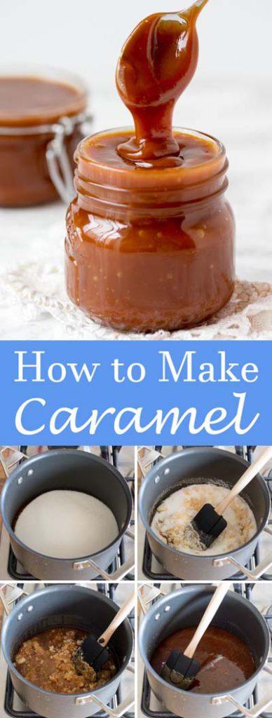 Caramel Recipes: Homemade Caramel Sauce
