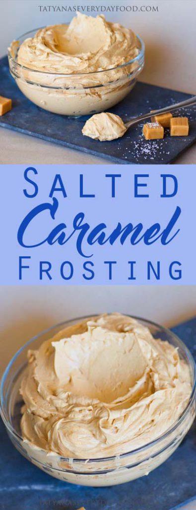 Caramel Recipes: Salted Caramel Frosting