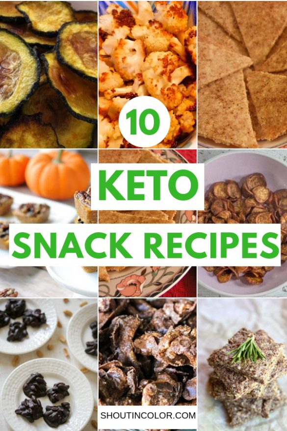 Keto Snack Recipes: 10 Keto Snack Recipes