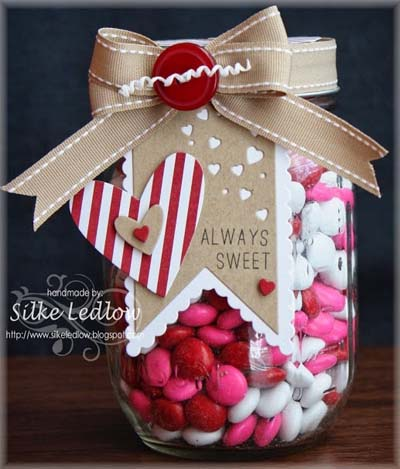 Valentines Day Gift Ideas: Always Sweet Mason Jar